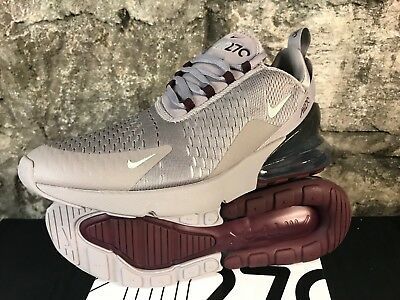 Air max 270 AH8050-016 ATMOSPHERE GREY SILVER NEW Running Shoes 8-13 NEW 2018