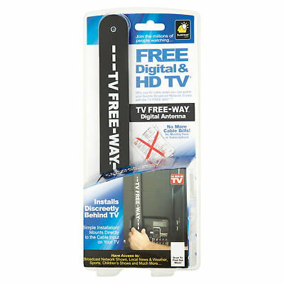 As Seen On TV Free-Way Clear HD Television Portable Digital Antenna
