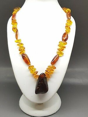 """17,3"""" Beautiful Genuine Baltic Amber Necklace for Girl/Woman"""