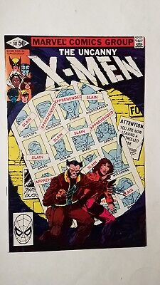 Marvel THE UNCANNY X-MEN JAN #141 comic (1981)