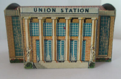 Built-Rite Rail Road or Christmas Village UNION STATION No. 56-3