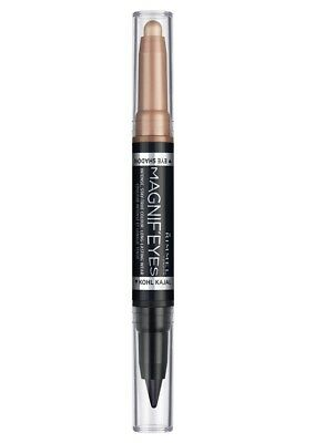 Rimmel London ~ Magnif'eyes Duo Shadow/liner  Pencil~ #006 Bold As Gold