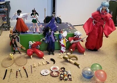 Inuyasha Figure Collection plus extras READ