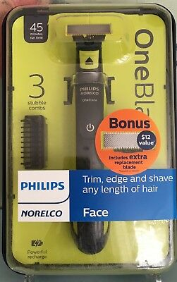 Philips Norelco OneBlade Trim And Shave QP2520/72 New In Box