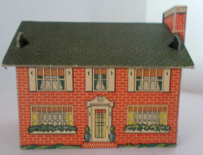 Built-Rite Rail Road or Christmas Village House NO 1