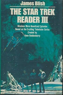 THE STAR TREK READER III by James Blish rare 1977 hardcover book (book club ed)