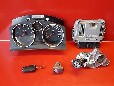Opel Zafira B 1.9 Cdti 120Cv Kit Demarrage Calculateur Ref 55198922 0281012549