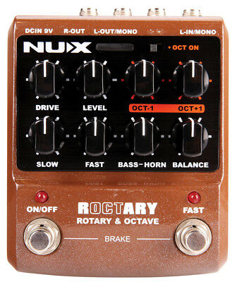 NUX NUX Roctary Effects Pedal NEW