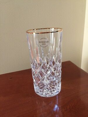 Lady Anne  Signature ~Gorham ~ Full Lead Crystal Highball Glass ~Made in Germany