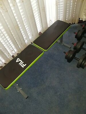 Workout Gym Flat Bench - FILA