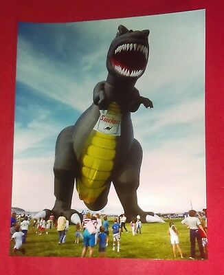 Dino SINCLAIR Gas Oil  Dinosaur Advertising Balloon 11 X 14 Photo