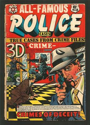 All Famous Police Cases #13, Dec. 1953