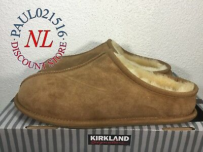Kirkland Signature Men's Shearling Clog Slippers ~ Cheapest Price ! !