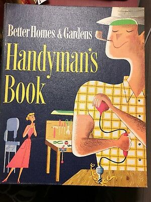 Vintage Better Homes and Gardens Ring Binder Handyman's Book Mid Century 1960's