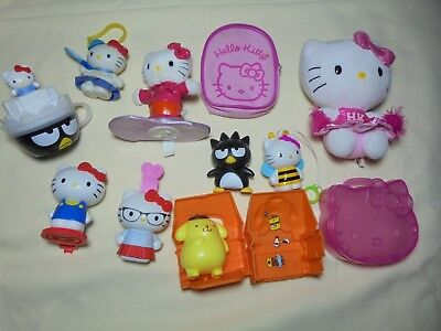 Hello Kitty Sanrio TY plush, toys snowboard 2006 wind-up toy,mini doll backpack