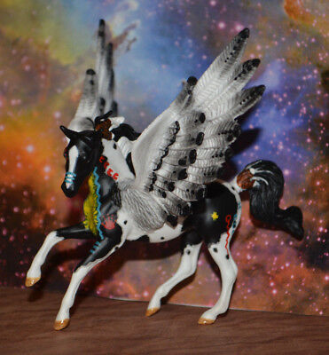 Custom Arabian Indian Pony Pegasus Stablemate Breyer Horse NEW by TnT OOAK CM