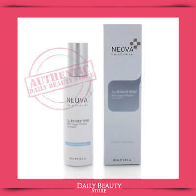 Neova Cu3 Recovery Spray with Copper Peptide Complex 100ml 3.4oz NEW FAST SHIP
