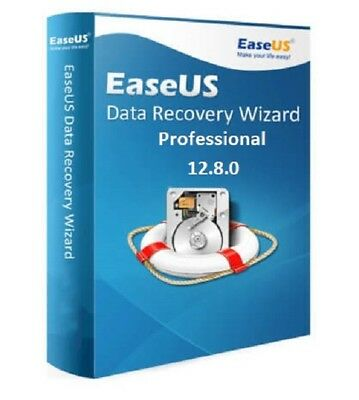 Easeus Data Recovery Wizard 12.8 Professional + Lifetime License
