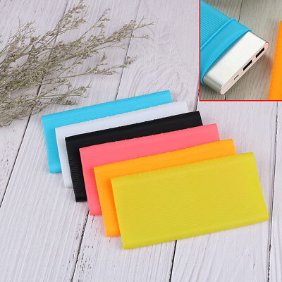 Protective silicone case skin cover sleeve for xiao-mi power bank 2 10000mAh