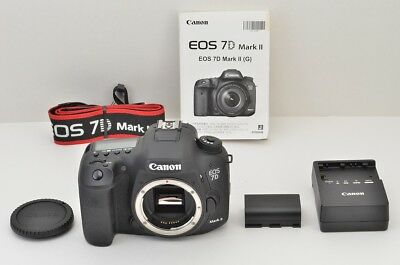 """N NEW"" Canon EOS 7D Mark II 20.2MP Digital SLR Camera Body Only #180925p"