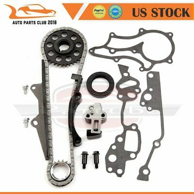 FOR 85-95 TOYOTA 2 4L 22R 22RE Pickup 4Runner Engine Timing Chain Gear Kit  22REC