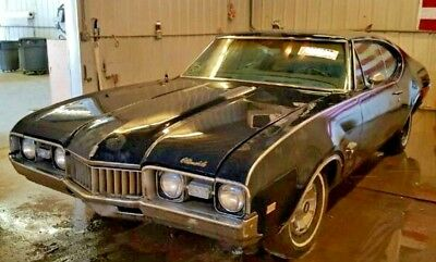 1968 Oldsmobile Cutlass S ***NO LONGER AVAILABLE***1968 oldsmobile cutless S, Hard top Coupe Barn Find V8
