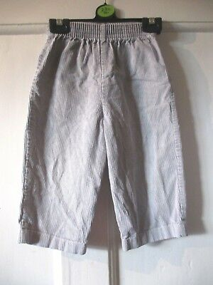 Vintage   boys grey  cord   trousers ~ KIDS AND CO 98/104 cm