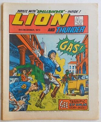 LION and THUNDER Comic - 8th December 1973