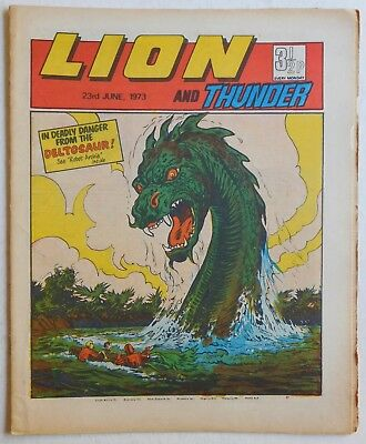 LION and THUNDER Comic - 23rd June 1973