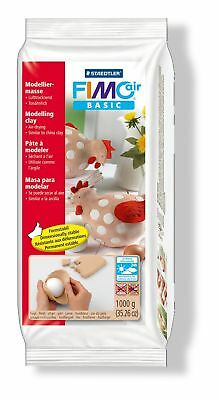 Staedtler Fimo Air Basic 8101-43 Air Drying Modelling Clay, 1 kg - Flesh