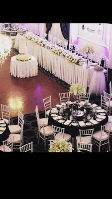 Tiffany Chiavari Chairs White For Hire Only $5 each (not for individual sale)