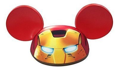 Disney Parks Marvel IRON MAN Mickey Mouse Ears Hat ~ YOUTH Size ~ NEW W/ TAGS