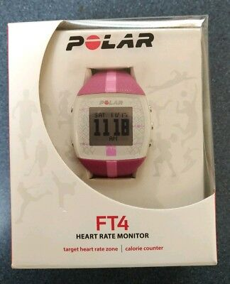 Polar FT4 Heart Rate Monitor Watch Pink