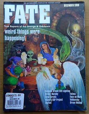 Fate Magazine Dec 1999 Top 100 Ufo Fortean Cryptozoolgy, Ghost Events Of Century
