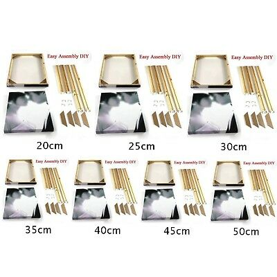 DIY Wood Bar Frame For Canvas Painting Art Stretcher Strip For Wrapped Gift Top