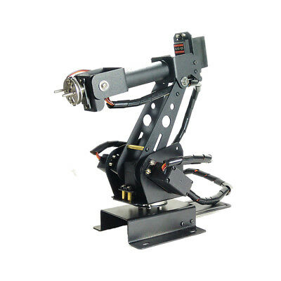 Upgraded DIY 6DOF Stainless Steel Robot Arm 6 Axis Rotating Mechanical Robot Arm