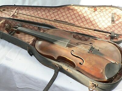 "Marcus Stainer Violin Marked ""in Tiroll 1646""  fiddle 小提琴 ヴァイオリン Geige"