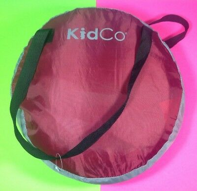 KidCo Peapod Child Portable Travel Bed Cranberry Kids Children - Fast Shipping