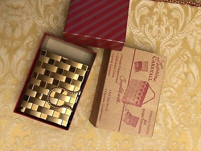 Leading Lady Luxurious Carryall - Antique Purse compact 1940s 1950s