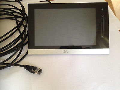 """Cisco Cts-Ctrl-Dvc8 Teleprescence 8"""" Lcd Touch Screen Control Pannel"""
