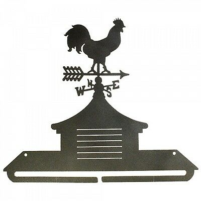 CUPOLA ROOSTER, 12 INCH SPLIT BOTTOM QUILT HANGER, From Ackfeld Manufacturing