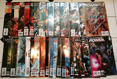 ULTIMATES 28 Issue Super Lot! Ultimate Power 1-9  Six 1-7  Ultimates 2 & 3  War