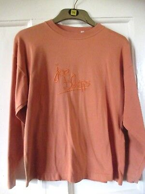 Joe bloggs vintage original t shirt long sleeve top rave baggy  Youths Medium  M