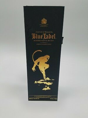 Year of the Monkey - JOHNNIE WALKER BLUE LABEL Scotch Whisky GIFT BOX