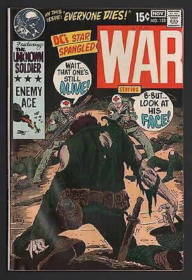 Star Spangled War Stories #153 VG+ 4.5 Off White Pages