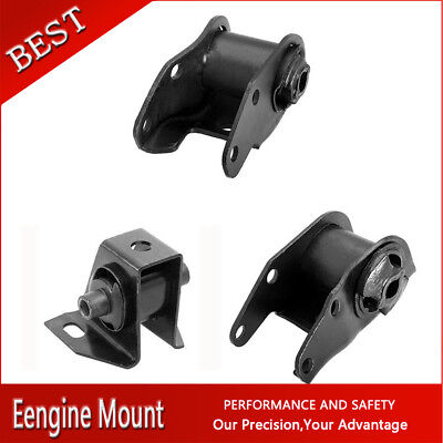 Westar-Manual Trans /& Engine Motor Mount Set 3X For 1985-1986 C10 V6 4.3L