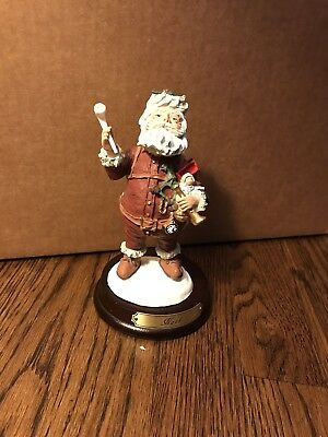 "Duncan Royale ""NAST"" History of Santa Claus Mini Collection 6.5"" Figure"