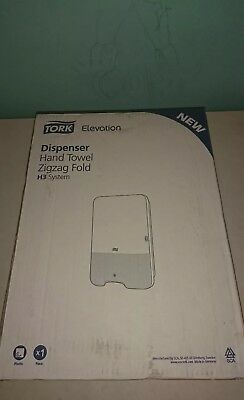 Tork Elevation Hand Towel Dispenser Zigzag Fold H3 System B0312