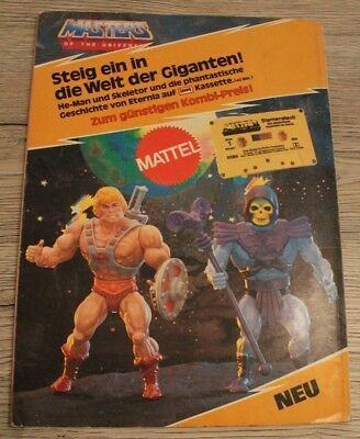 Masters of the Universe Werbung He-man Skeletor Giftset