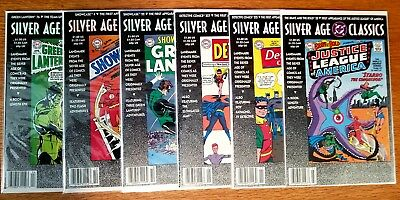 DC Silver Age Classics lot of (6) see list below